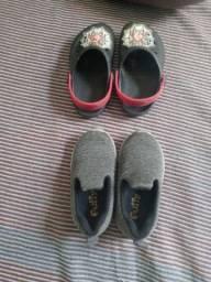 Vendo sapato novo usado 3 vezes só numeração 22