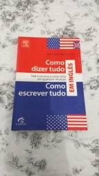 Livro Como dizer/escrever tudo em inglês
