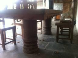 Mesa para churrasco 12 lugares