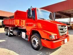 Título do anúncio: Mb atron 2324/caçamba truck/2014