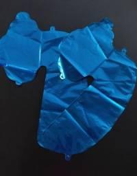Título do anúncio: Balão de  n° 7  40cm Metaliz Azul