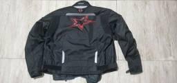 Jaqueta motociclista usada  2x tamanho M