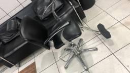 Cadeira hidráulica reclinável Dompel