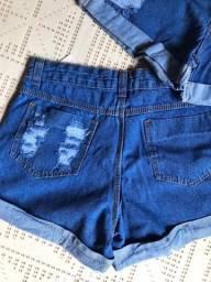 PrPRUltimas peças! PROMOÇÃO (40 e 44)Short Jeans Botão encapados