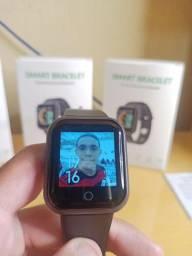 Relógio Smartwatch D20 Plus Personaliza foto na tela