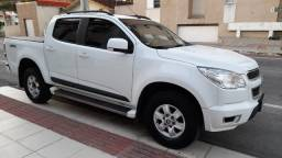 GM S10 Lt Diesel 2014 - Automática - 4x4 - Branca!