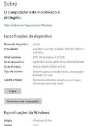 Título do anúncio: Notebook i3 6ªger  8gb ram  256gb SSD