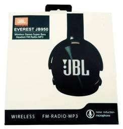 Fone De Ouvido Headphone Wireless Bluetooth Mp3 Fm Micro Sd JBL950