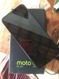 Moto g9 tela ficou escura mais continua ligado