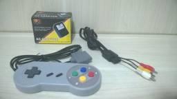 Acessórios Super Nintendo Controle Cabo AV Fonte Novos Snes