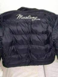 Jaqueta Mustang Puffer Super Stuff Masculina - Preto. Tamanho G/GG nova/zero