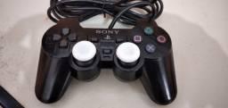 Controle Sony original de Ps2 (play2) funcionando normalmente na promoção