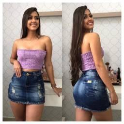 Saias Jeans e Shorts Jeans