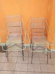 Cadeiras de.espaguete