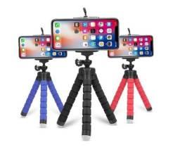 Mini Tripé Flexível para Celular e Cameras