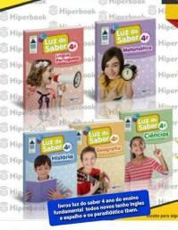 Coleção completa do Livro luz do saber do 4 ano do ensino fundamental