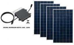 Gerador de energia solar para quem gasta até R$ 230 por mês