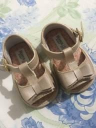 sapato infantil tamanho 16