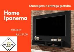 Home Ipanema para tv até de 42 Frete e Montagem Grátis Painel para tv