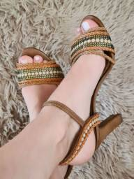 Sandália salto 8cm
