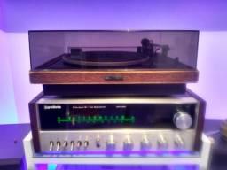 Receiver e toca discos Gradiente