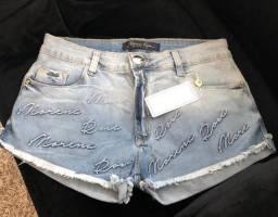 Shorts Jeans Morena Rosa