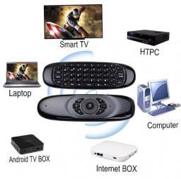 Controle Remoto Smart Tv Air Tv Box Magic Duplo
