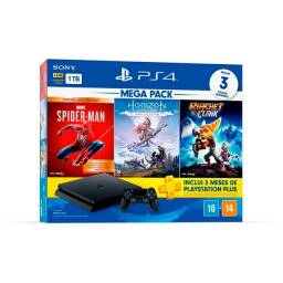 Playstation 4 1TB com 3 Jogos - Loja ibyte