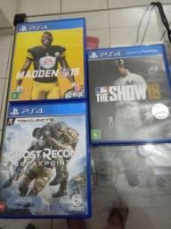 3 jogos PS4 por R$120
