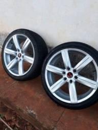 Aro 22 com pneus