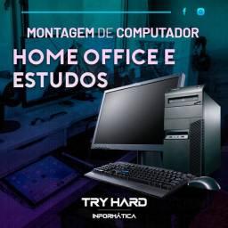 Computador - Home Office/Estudos/Casual - Montagem + Ler a descrição para Informações