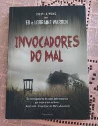 Livro Invocadores do mal