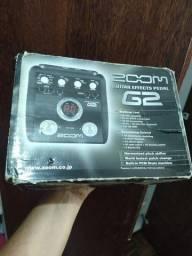 Título do anúncio: Pedaleira Zoom G2 de guitarra (Seminova)