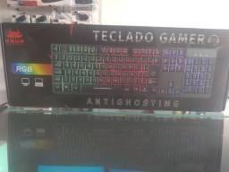 Promoção teclado gamer com led