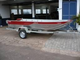 Barco de Alumínio Buricá 420 NOVO - 2018