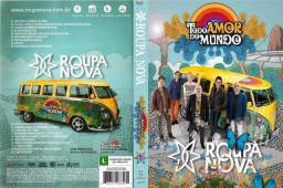 Kit revista cd e dvd Roupa Nova