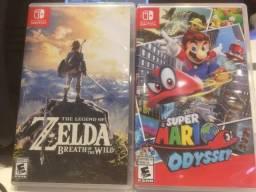Mário e Zelda Nintendo Switch
