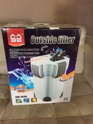 Filtro Canister HW 403B 1400l/h com lâmpada UV