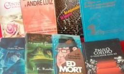 Lote de 8 livros usados