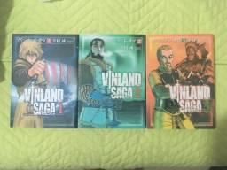 Mangá original japonês vinland saga 1-3