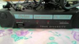 "Microfone Facial e Lapela ""sem fio"" Dylan"