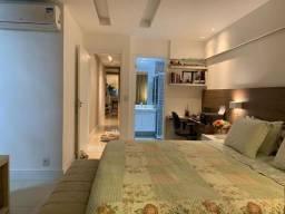 Apto de 4 quartos, sendo 2 suites, 2 vagas, varandão gourmet e mobiliado. - Itaboraí