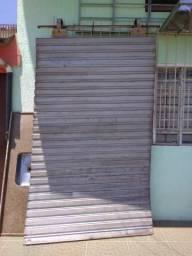 Porta de Aço Galvanizado Usada
