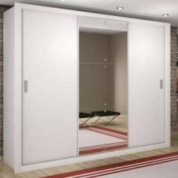 Guarda Roupa 3 portas c/ espelho Zattini - Receba hoje