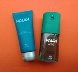 Kit shampoo e desodorante masculino Kaiak