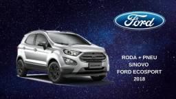 Ford Ecosport Freestyle 2018 Roda + Pneu Original Step ou Reposição
