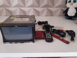 Dvd Philco 2 Din com receptor de tv