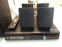 Home Theater LG 5.1 Canais com Blu-ray Player 3D, Smart TV, Bluetooth, USB, HDMI - 1000W