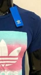 Camisa Da Adidas Masculina Azul, original importada