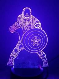 Luminaria Led herois 3D